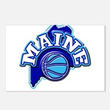 Maine Basketball Postcards (Package of 8)