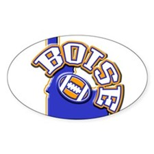 Boise Football Oval Decal