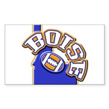 Boise Football Rectangle Decal