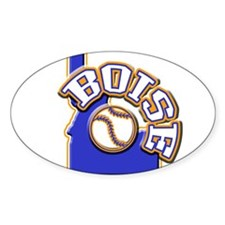 Boise Baseball Oval Decal