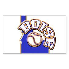 Boise Baseball Rectangle Decal