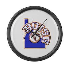 Boise Baseball Large Wall Clock