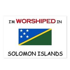 I'm Worshiped In SOLOMON ISLANDS Postcards (Packag