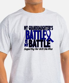 My Battle Too 1 BLUE (Granddaughter) T-Shirt