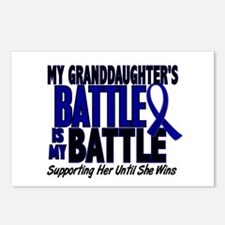 My Battle Too 1 BLUE (Granddaughter) Postcards (Pa