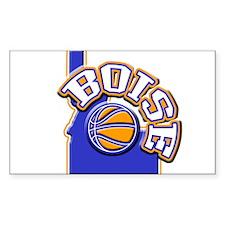 Boise Basketball Rectangle Decal