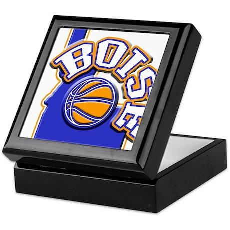 Boise Basketball Keepsake Box