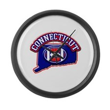 Connecticut Football Large Wall Clock
