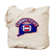 Connecticut Football Tote Bag