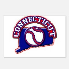 Connecticut Baseball Postcards (Package of 8)
