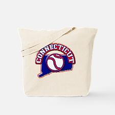 Connecticut Baseball Tote Bag