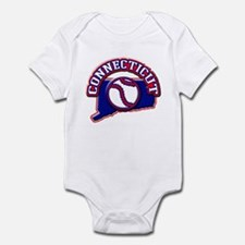 Connecticut Baseball Infant Bodysuit