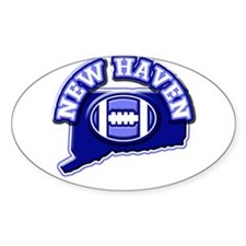 New Haven Football Oval Decal