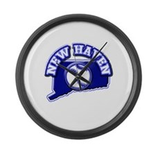 New Haven Baseball Large Wall Clock