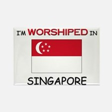 I'm Worshiped In SINGAPORE Rectangle Magnet