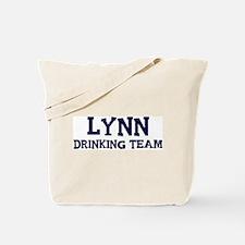 Lynn drinking team Tote Bag