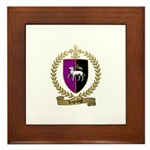 LAGRANGE Family Crest Framed Tile
