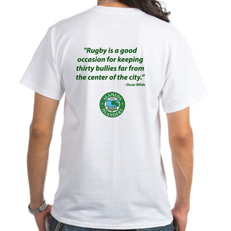 Alameda Rugby White T-Shirt