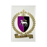 LAGRANGE Family Crest Rectangle Magnet (10 pack)