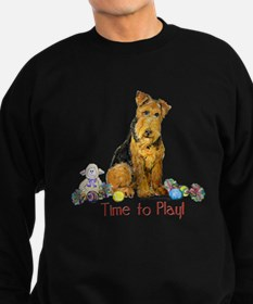 Time to Play Airedale! Sweatshirt