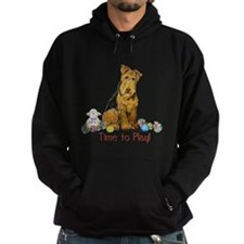 Time to Play Airedale! Hoodie