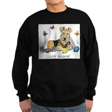 Life is Good Terrier Sweatshirt