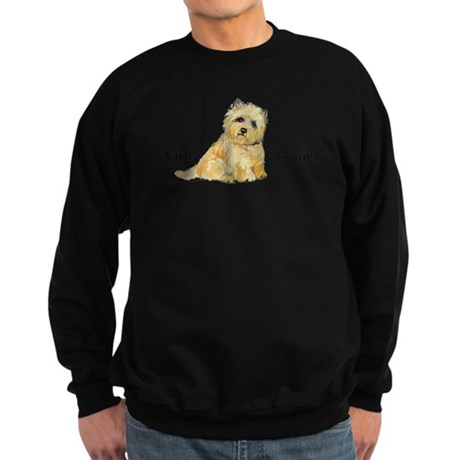 Cairn Terrier - Got Cookies? Sweatshirt (dark)