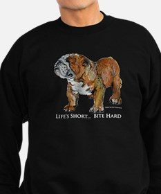 Bulldogs Life Motto Sweater
