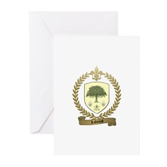 LAFOREST Family Crest Greeting Cards (Pk of 10