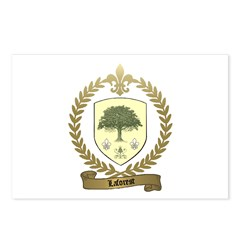 LAFOREST Family Crest Postcards (Package of 8)