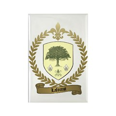 LAFOREST Family Crest Rectangle Magnet (100 pack)