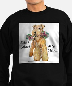 Bite Hard Lakeland Terrier Sweatshirt