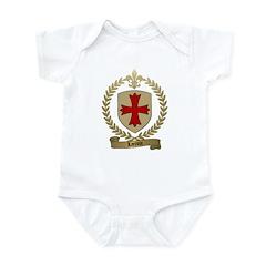 LACROIX Family Crest Infant Creeper