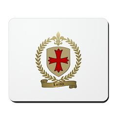 LACROIX Family Crest Mousepad