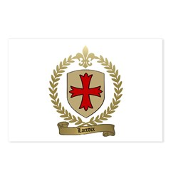 LACROIX Family Crest Postcards (Package of 8)