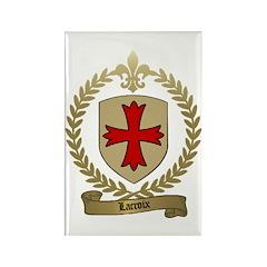 LACROIX Family Crest Rectangle Magnet
