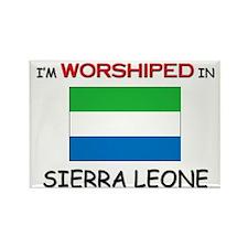 I'm Worshiped In SIERRA LEONE Rectangle Magnet