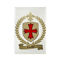 LACROIX Family Crest Rectangle Magnet (10 pack)