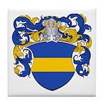Ebeling Family Crest Tile Coaster