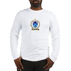 LACHAPELLE Family Crest Long Sleeve T-Shirt