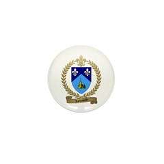 LACHAPELLE Family Crest Mini Button (10 pack)