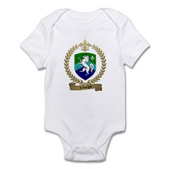 LABORGNE Family Crest Infant Creeper