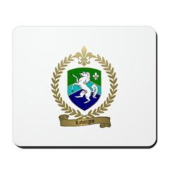 LABORGNE Family Crest Mousepad