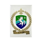 LABORGNE Family Crest Rectangle Magnet