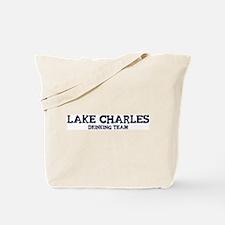 Lake Charles drinking team Tote Bag