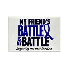 My Battle Too 1 BLUE (Female Friend) Rectangle Mag