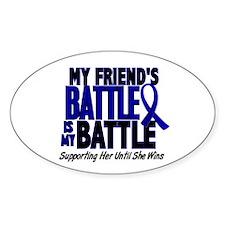 My Battle Too 1 BLUE (Female Friend) Decal