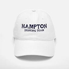 Hampton drinking team Baseball Baseball Cap