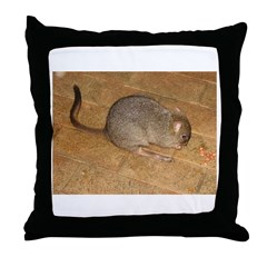 Woylie Throw Pillow