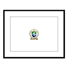 LABORNE Family Crest Large Framed Print